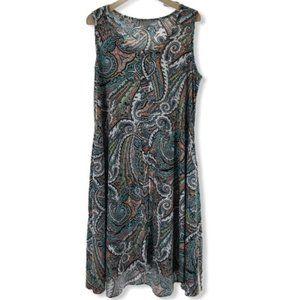 Avenue Shift Dress w/ Pockets Plus sz 14/16 EUC